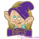 Disney Snow White and the Seven Dwarfs Video & DVD Release - Dopey Pin © Dizdude.com