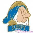 Disney Snow White and the Seven Dwarfs Video & DVD Release - Sleepy Pin © Dizdude.com