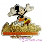 Walt Disney World Pin Pursuit - Passport to Our World Map Pin-Board 2001 with Mickey Mouse Completer Pin Limited Edition 5000
