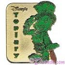 Walt Disney World - Cast Lanyard Pin Collection 1 - Jiminy Cricket Topiary Pin © Dizdude.com