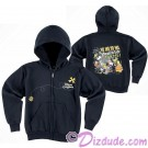 Disney's Pirates of the Caribbean - Mickey and Crew A Pirates Life For Me Youth Hoodie (Printed Front & Back)