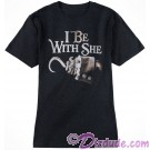 Pirates Of The Caribbean I Be With She Companion Adult T-shirt (Tee, Tshirt or T shirt)