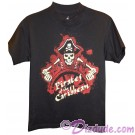 Vintage Disney Pirates of the Caribbean Skeleton Pirate Captain Youth T-shirt (Tee, Tshirt or T shirt)