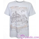 Disney's Pirates of The Caribbean Attraction Adult T-shirt (Tee, Tshirt or T shirt)