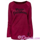 Disney Pirates of The Caribbean Ladies Long Sleeve Pirate King Top