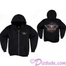 Rock 'N' Roller Coaster Fleece Adult Zip Hoodie - Disney Hollywood Studios