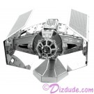 Disney Star Wars Darth Vader's TIE Fighter 3D Metal Model Kit © Dizdude.com