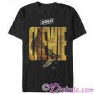 SOLO A Star Wars Story Chewie Logo Adult T-Shirt (Tshirt, T shirt or Tee)  © Dizdude.com
