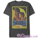 SOLO A Star Wars Story Gold Framed Hand & Chewie Youth & Adult T-Shirt (Tshirt, T shirt or Tee)  © Dizdude.com