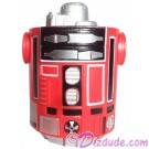 Bright Red & Black Astromech Droid Body ~ Series 2 from Disney Star Wars Build-A-Droid Factory © Dizdude.com