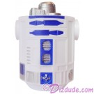 White & Blue Astromech Droid Body ~ Series 2 from Disney Star Wars Build-A-Droid Factory © Dizdude.com