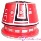 R5 Red Astromech Droid Dome ~ Series 2 from Disney Star Wars Build-A-Droid Factory © Dizdude.com