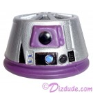 R6 Silver & Purple Astromech Droid Dome ~ Series 2 from Disney Star Wars Build-A-Droid Factory © Dizdude.com