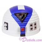 R7 White & Blue Astromech Droid Dome ~ Series 2 from Disney Star Wars Build-A-Droid Factory © Dizdude.com