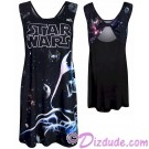 Darth Vader Ladies Open Back Dress - Disney Star Wars © Dizdude.com