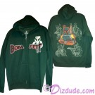Boba Fett Sketch Hoodie Adult Printed Front and Back - Disney Star Wars © Dizdude.com