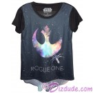 Rogue One Rebel Hi-Lo Adult T-Shirt (Tshirt, T shirt or Tee) - Disney's Star Wars © Dizdude.com