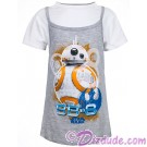 Disney Star Wars BB-8 Astromech Droid Youth Tank T-Shirt (Tshirt, T shirt or Tee) © Dizdude.com