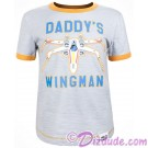 Disney Star Wars Episode VIII: The Last Jedi - Daddy's Wingman Toddler Ringer T-Shirt (Tshirt, T shirt or Tee)