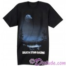 Death Star Gazing Adult T-Shirt (Tshirt, T shirt or Tee) - Disney's Star Wars © Dizdude.com
