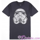 Disney Star Wars Distressed Stormtrooper Adult T-Shirt (Tshirt, T shirt or Tee) © Dizdude.com