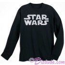 Disney SOLO A Star Wars Story Title Logo Adult Long Sleeve T-shirt (Tshirt, T shirt or Tee) © Dizdude.com