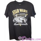 "Disney Star Wars Millennium Falcon ""She's Fast Enough For You Old Man"" Adult T-Shirt (Tshirt, T shirt or Tee) © Dizdude.com"