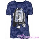 Disney Star Wars R2-D2 Bling Adult T-shirt (Tee, Tshirt or T shirt) © Dizdude.com
