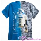 Disney Star Wars R2-D2 Tie-Dyed Adult T-Shirt (Tshirt, T shirt or Tee) © Dizdude.com