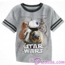 Disney Star Wars BB-8 Youth Ringer T-Shirt (Tshirt, T shirt or Tee) © Dizdude.com