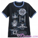 Disney Star Wars Youth Blueprint Ringer T-Shirt