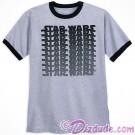 Disney SOLO A Star Wars Story Title Logo Adult Ringer T-shirt (Tshirt, T shirt or Tee) © Dizdude.com