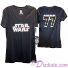 Disney Star Wars 77 Junior/ Teen T-Shirt (Tshirt, T shirt or Tee) © Dizdude.com