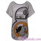 BB-8 Bling T-Shirt (T-Shirt, Tshirt, T shirt or Tee) Disney Star Wars: The Last Jedi © Dizdude.com