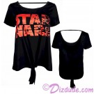 Disney Star Wars: The Last Jedi Tie Front T-shirt (T-Shirt, Tshirt, T shirt or Tee) © Dizdude.com