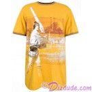 Disney Star Wars  Vintage Luke Skywalker Adult T-Shirt (Tshirt, T shirt or Tee) © Dizdude.com