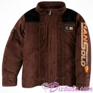 Han Solo Costume Youth Zip Jacket ~ Disney SOLO A Star Wars Story © Dizdude.com