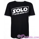 Disney SOLO A Star Wars Story Logo Adult Jersey T-shirt (Tshirt, T shirt or Tee) © Dizdude.com