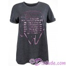 Millennium Falcon Pink Foil Ladies Fashion T-Shirt (Tshirt, T shirt or Tee) ~ Disney SOLO A Star Wars Story © Dizdude.com