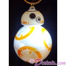 Disney Star Wars: The Force Awakens BB-8 BB-8 Light & Sound Key Chain or Christmas Ornament © Dizdude.com