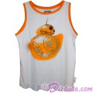 Disney's Star Wars: The Force Awakens BB-8 Adult Tank Top / Singlet © Dizdude.com