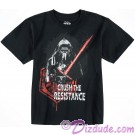 Kylo Ren Crush The Resistance Youth T-Shirt (Tshirt, T shirt or Tee) - Disney Star Wars: The Force Awakens © Dizdude.com