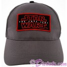 Disney Star Wars Episode VIII: The Last Jedi Title Logo Baseball Hat © Dizdude.com