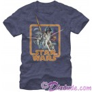 Star Wars A New Hope Classic Poster Adult T-Shirt (Tshirt, T shirt or Tee) © Dizdude.com