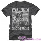 Star Wars Darth Vader - Warning Choking Hazard Adult T-Shirt (Tshirt, T shirt or Tee) © Dizdude.com