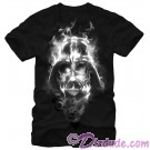 Star Wars Darth Vader's Face In Smoke Adult T-Shirt (Tshirt, T shirt or Tee) © Dizdude.com