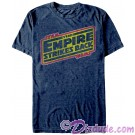 Star Wars Empire Strikes Back Distressed Title Logo Adult T-Shirt (Tshirt, T shirt or Tee) © Dizdude.com