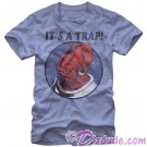 Star Wars Admiral Ackbar It's a Trap Adult T-Shirt (Tshirt, T shirt or Tee) © Dizdude.com