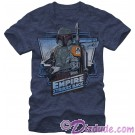 Star Wars The Empire Strikes Back: Boba Fett Adult T-Shirt (Tshirt, T shirt or Tee) © Dizdude.com