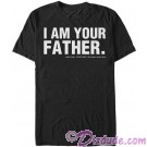 Star Wars The Empire Strikes Back: Darth Vader - I Am Your Father Adult T-Shirt (Tshirt, T shirt or Tee) © Dizdude.com